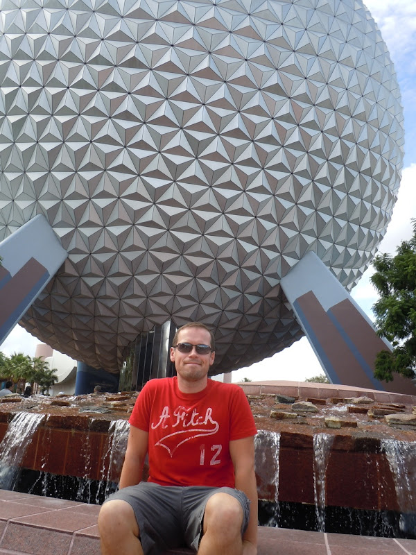 Jason at Epcot