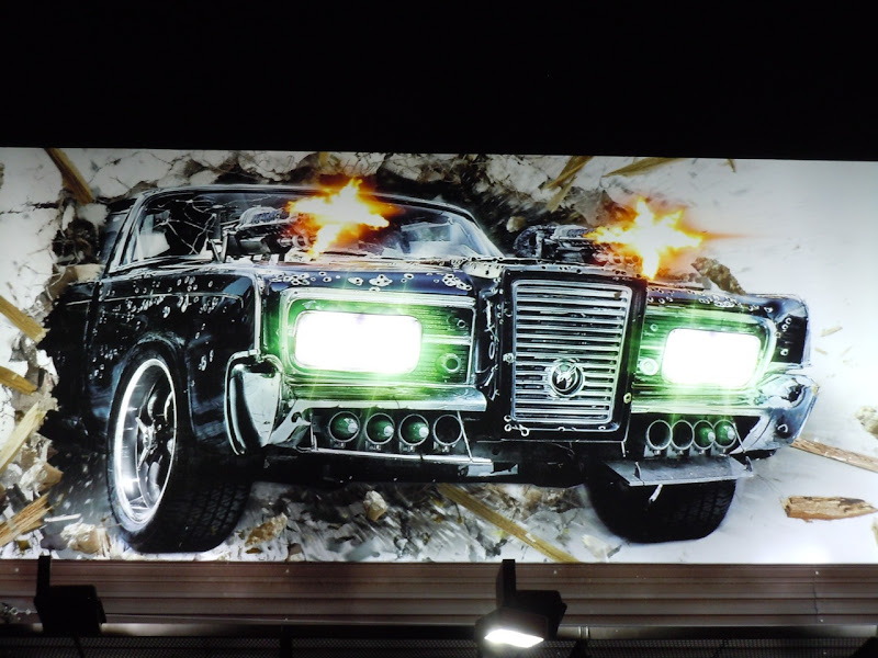 Green Hornet Black Beauty billboard