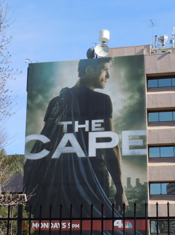 The Cape billboard NBC Studios