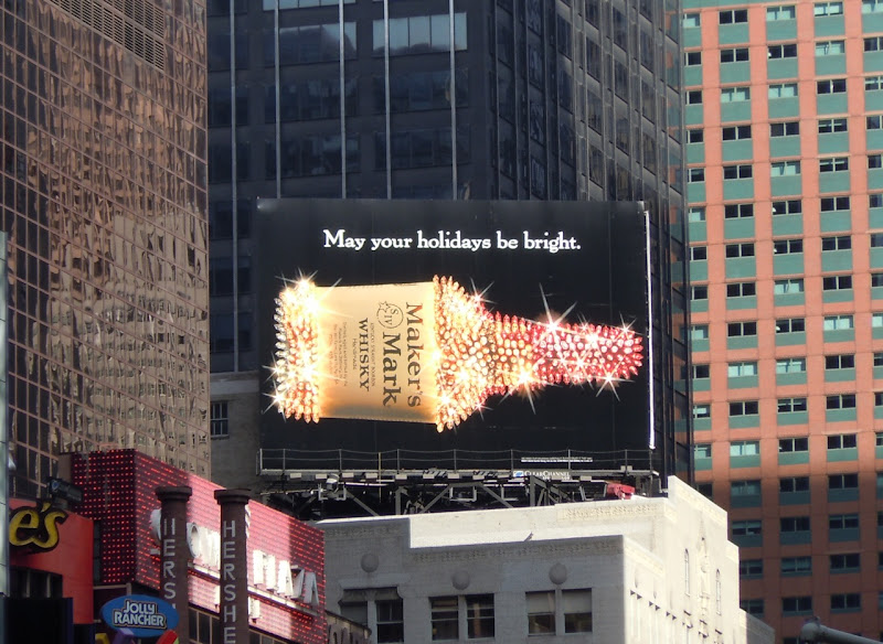 Maker's Mark Holidays 2010 billboard