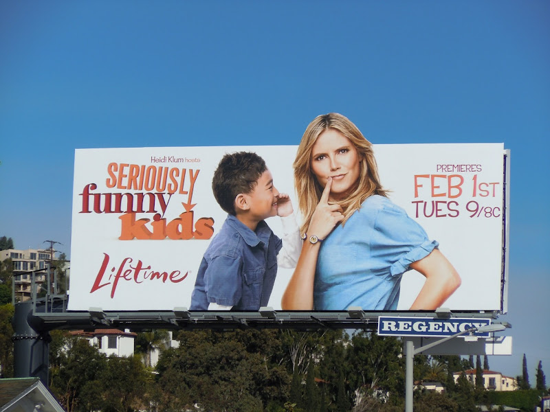 Seriously Funny Kids TV billboard