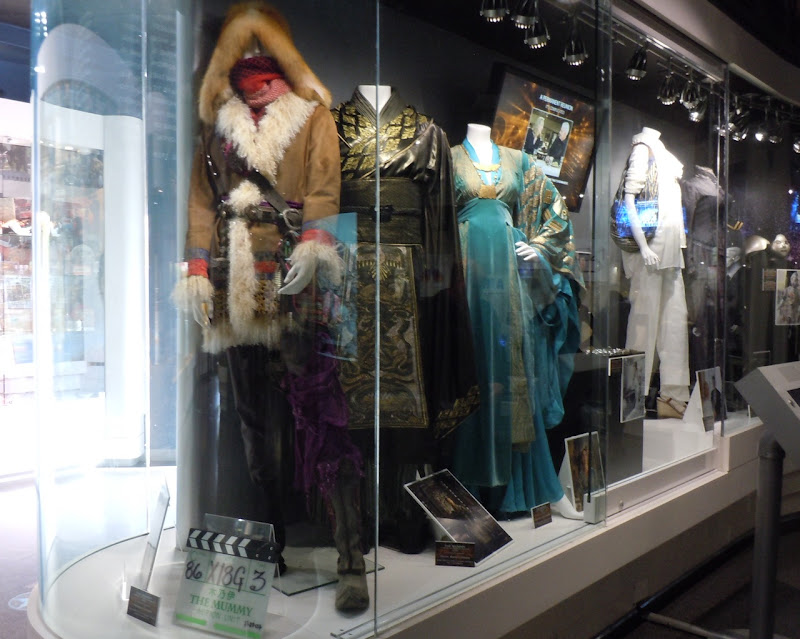 Universal movie costume exhibit