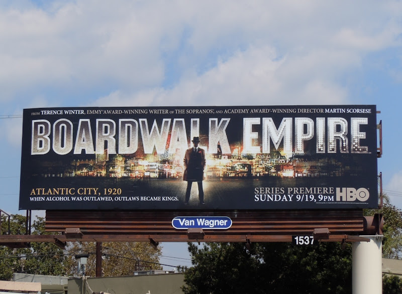 Boardwalk Empire TV billboard