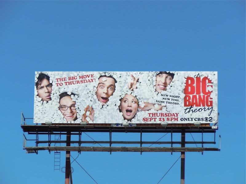 Big Bang Theory TV billboard