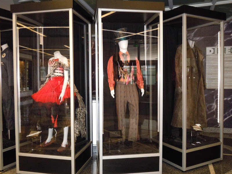 Disney Studios costume display