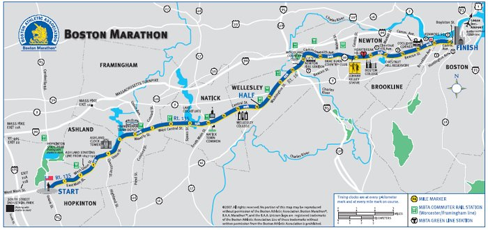 boston marathon treadmill simulation dating