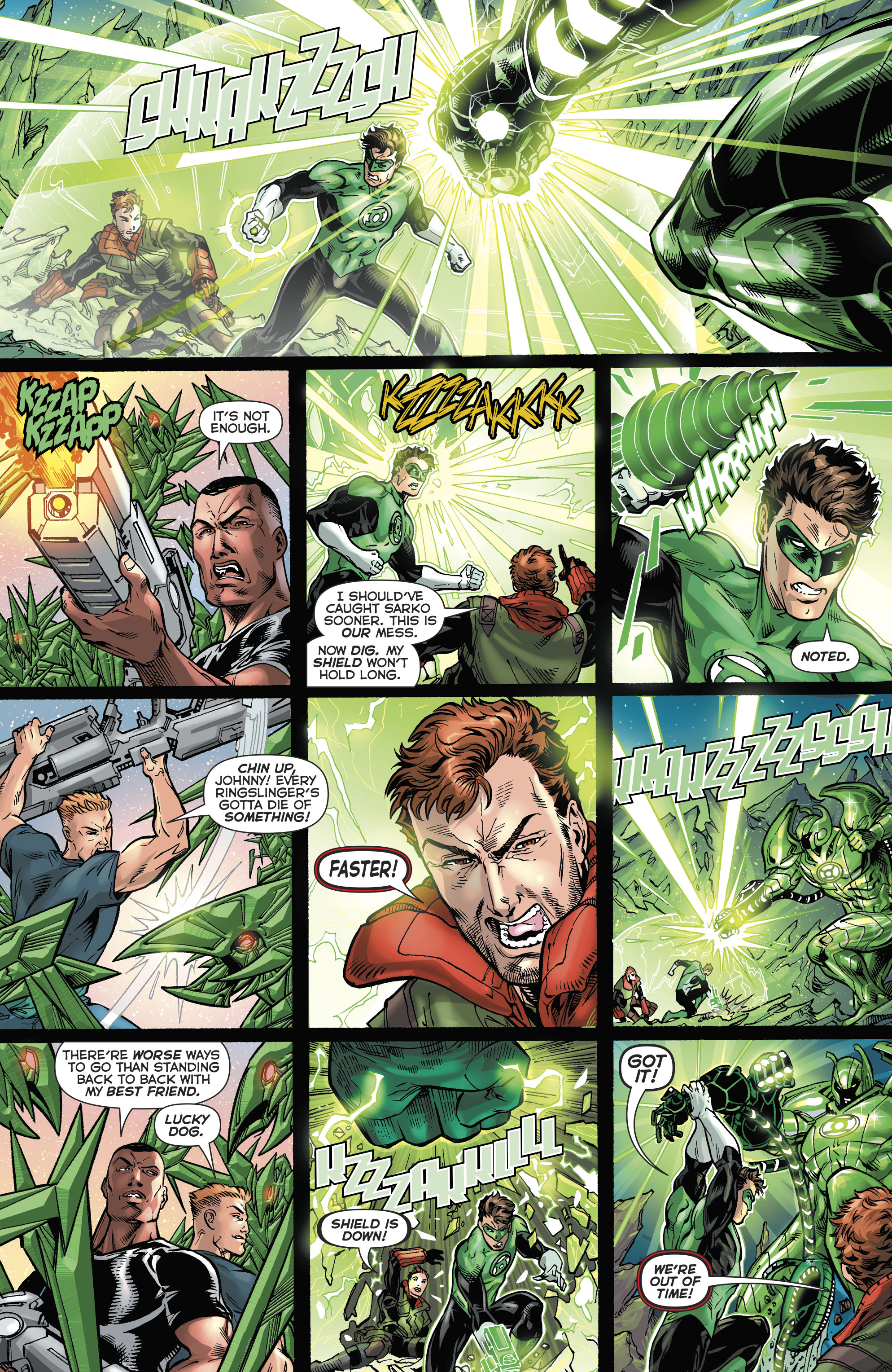 Read online Hal Jordan And The Green Lantern Corps comic -  Issue #21 - 17