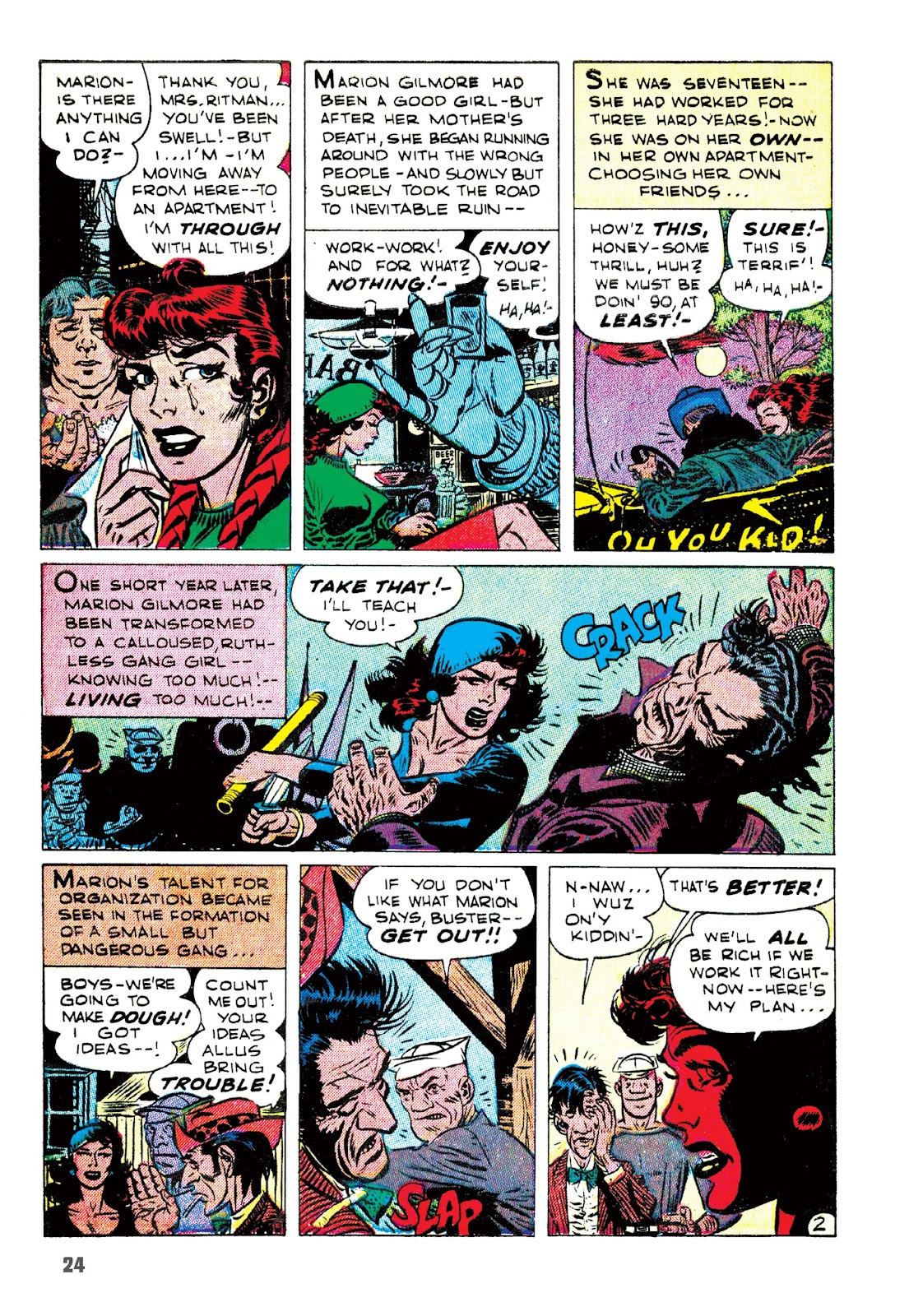 Read online The Joe Kubert Archives comic -  Issue # TPB (Part 1) - 35