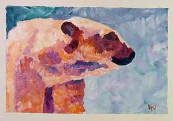 Artistic Polar Bear Challenge 100 Ways In Days 61