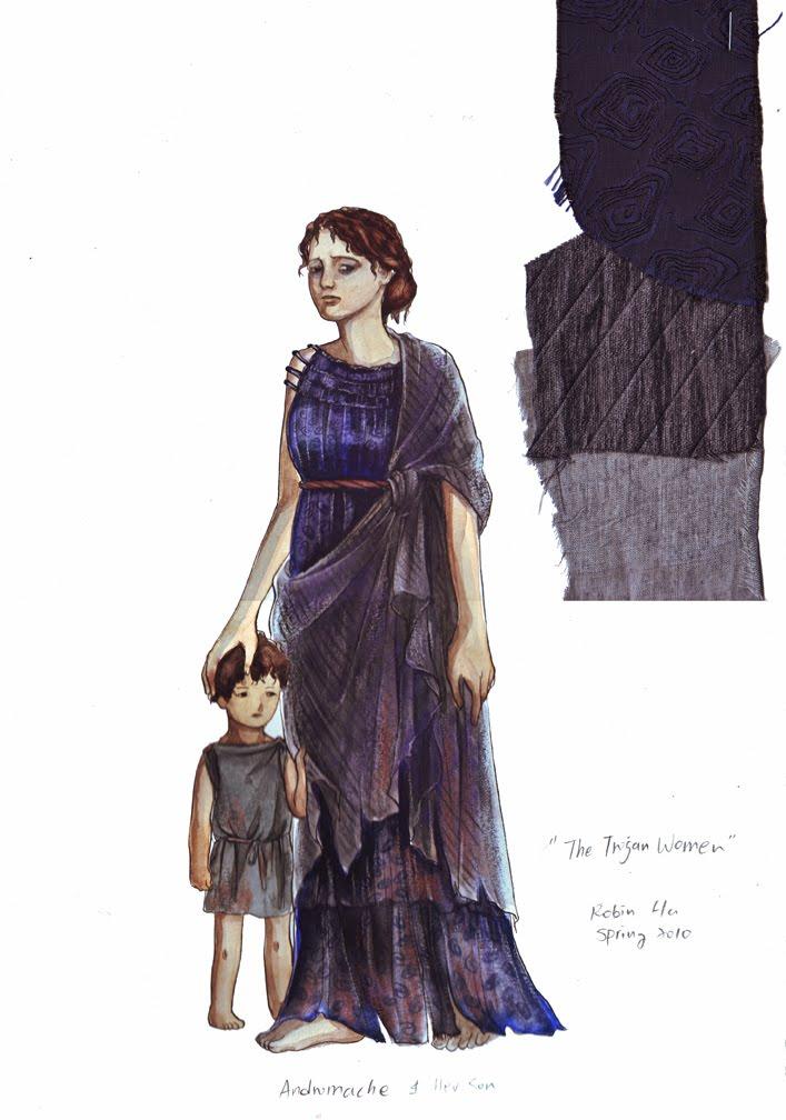 The Trojan Women- Costume Design  sc 1 st  Robin Ha & Juice: The Trojan Women- Costume Design