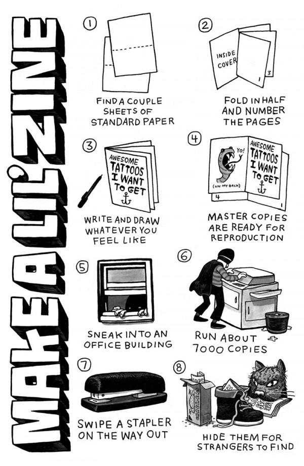 Yo Sick Zine: How To Make A Zine