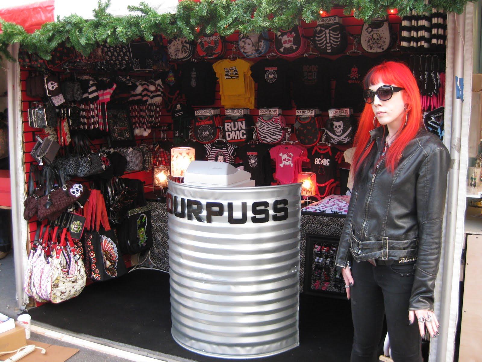 Sourpuss clothing store