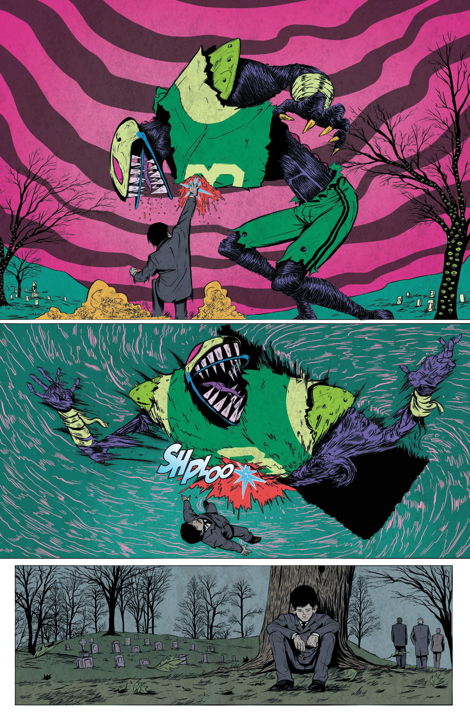 Read online Translucid comic -  Issue #4 - 4