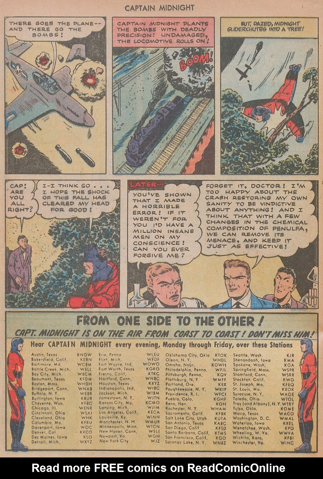 Captain Midnight (1942) issue 29 - Page 32