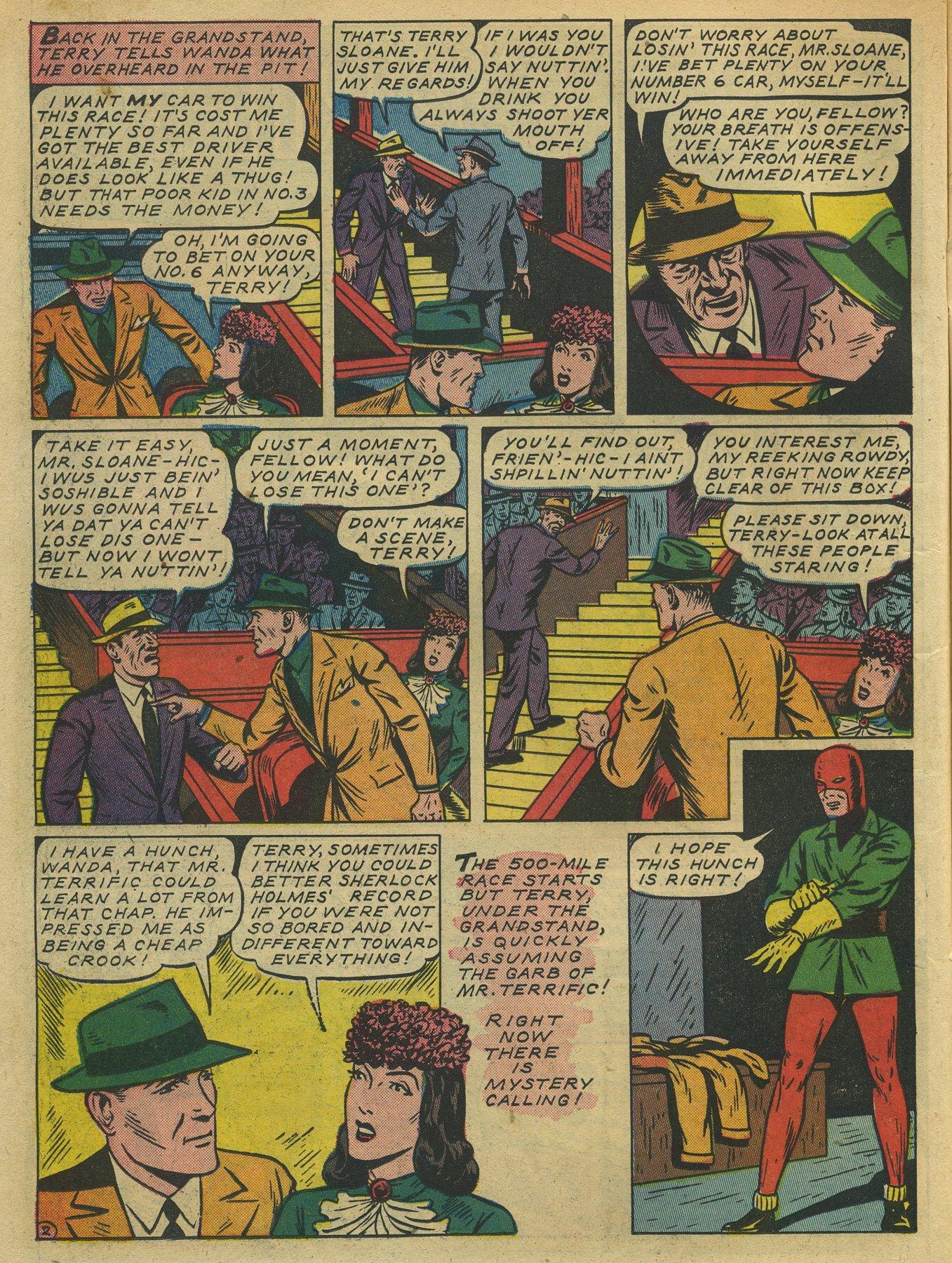 Read online Sensation (Mystery) Comics comic -  Issue #10 - 26