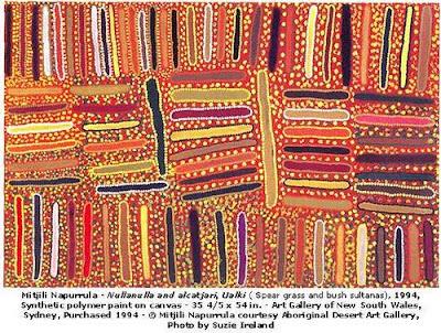 The Art Of Looking Sideways Mitjili Napurrula