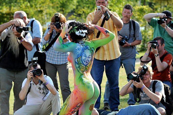 World Bodypainting Festival 2010 In Seeboden Austria