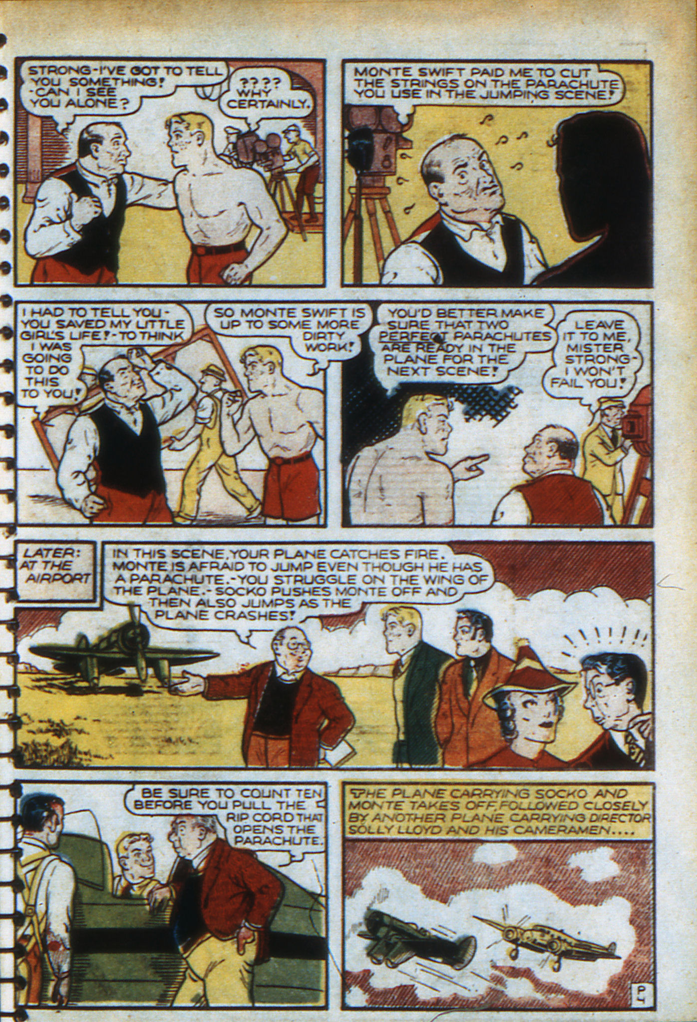 Read online Adventure Comics (1938) comic -  Issue #48 - 40