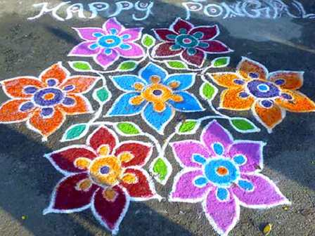 World Hot and Best Wallpapers: Free hand Diwali Rangoli ...