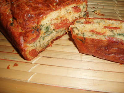 Cake Chorizo Cacahuete