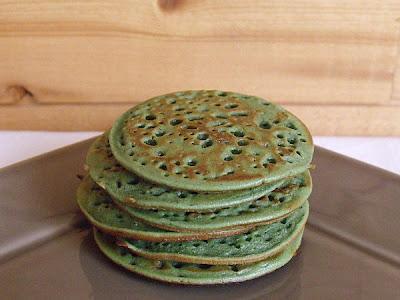 Pancake à la pistache