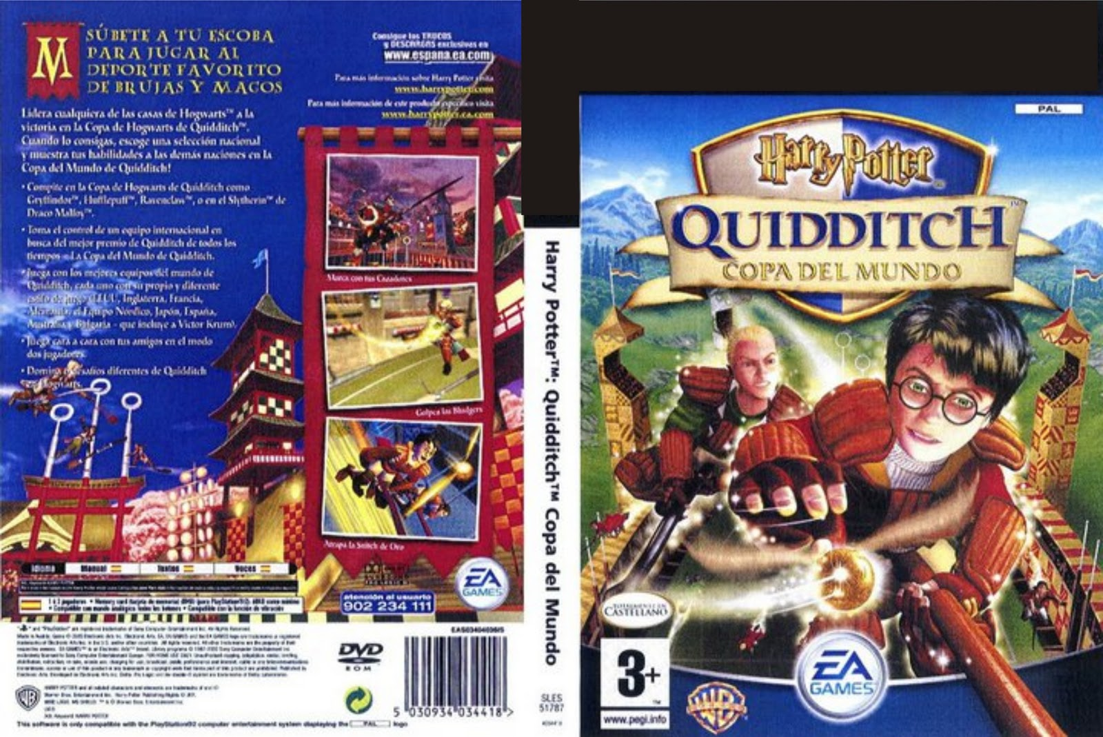 Gametime Juegos Harry Potter Quidditch World Cup