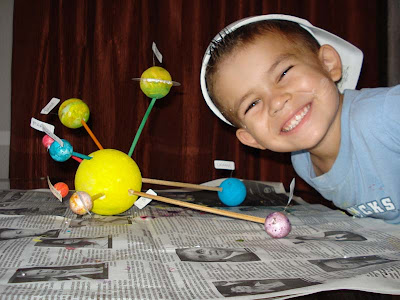 Science Solar System Projects Elementary - Pics about space