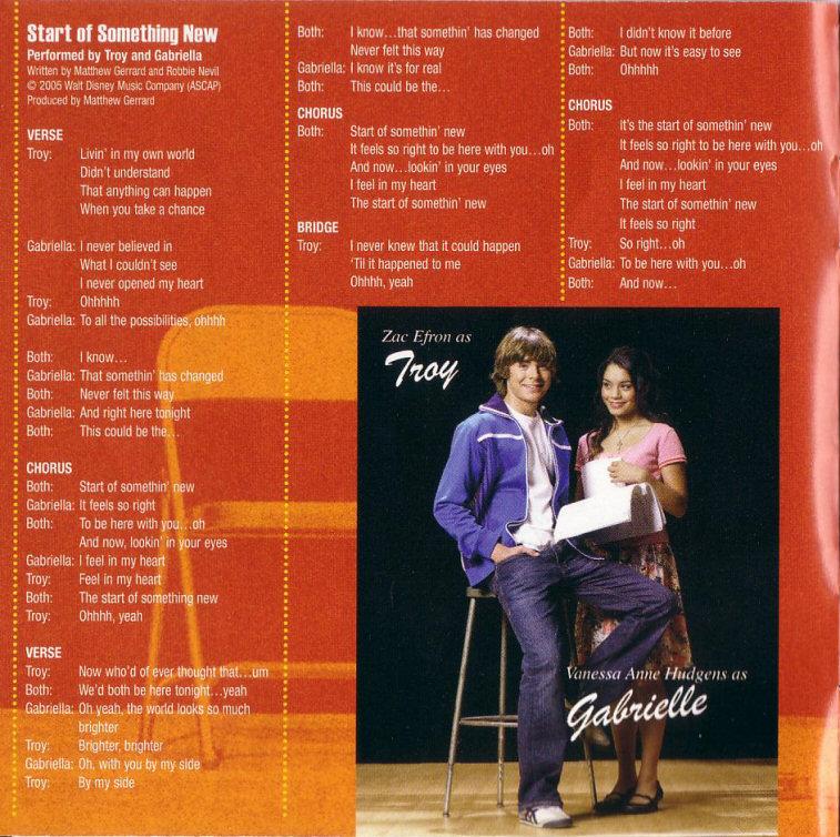 Cá ♥ Rùa: [CBR/320k][Album] High School Musical 1 OST+LYRICS