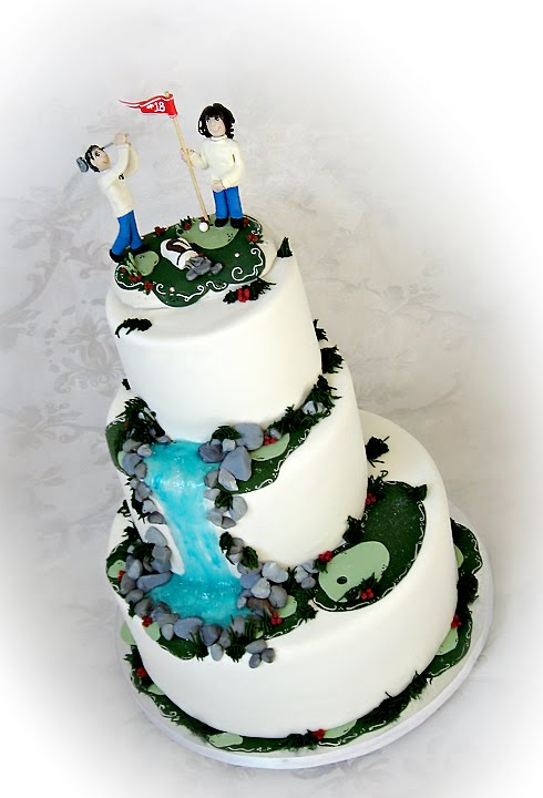 wedding cake toppers golf theme stacey s sweet shop truly custom cakery llc golf 26482