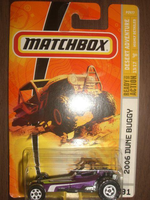 Bimbim Diecast Metal: Diecast 0130 Matchbox 2006 DUNE BUGGY