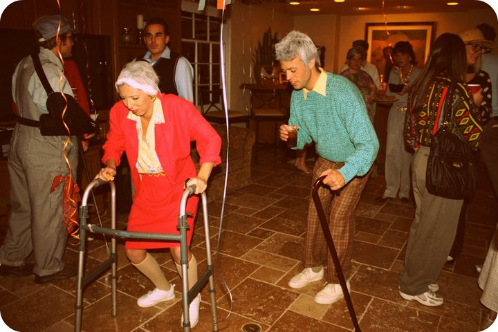 Dang!: Old People Birthday Event