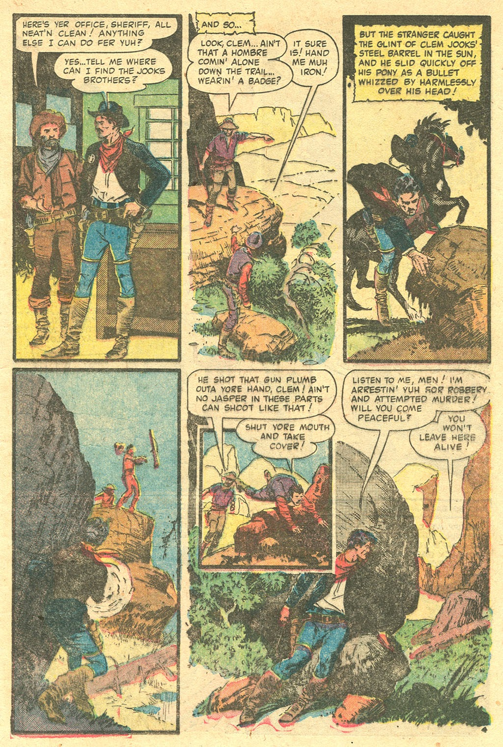 Gunsmoke Western issue 33 - Page 14
