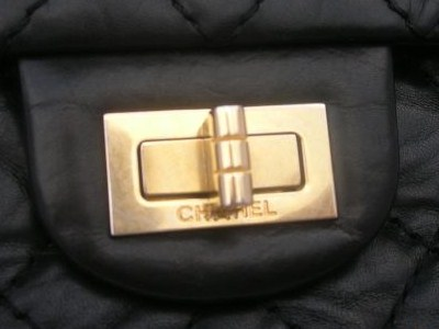 This Is A Mademoie Lock From Reissue Just To Show How The Chanel Lettering Can Ear Below Twist On Modern Bags