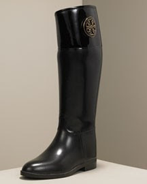 b20d81341e02 The Look 4 Less  Tory Burch Winnie Rain Boot
