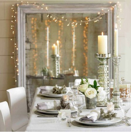 Natural Modern Interiors Christmas Decoration Ideas By