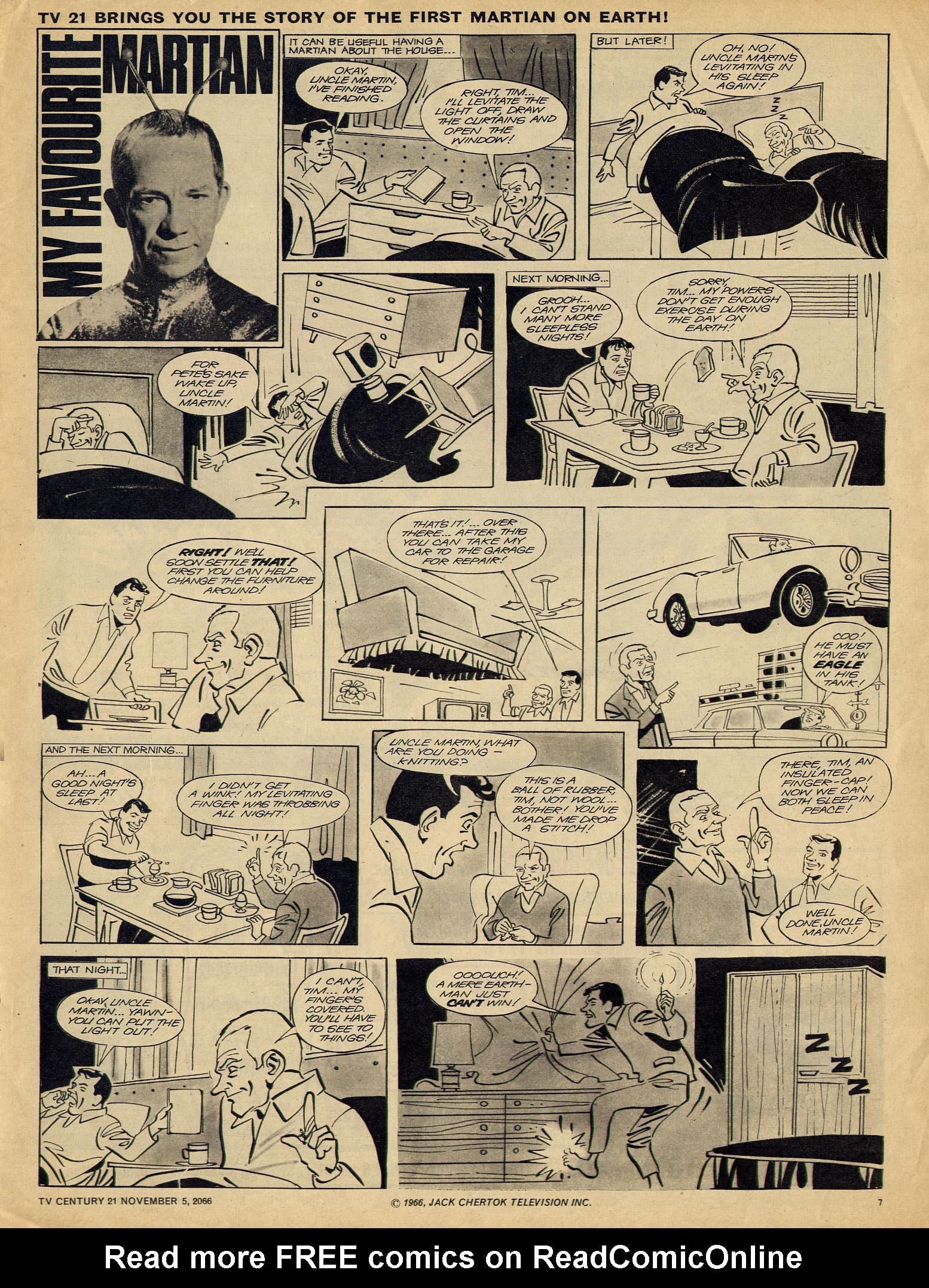 Read online TV Century 21 (TV 21) comic -  Issue #94 - 7