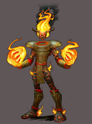 Smite Fire Giant Concept Art - Pics about space
