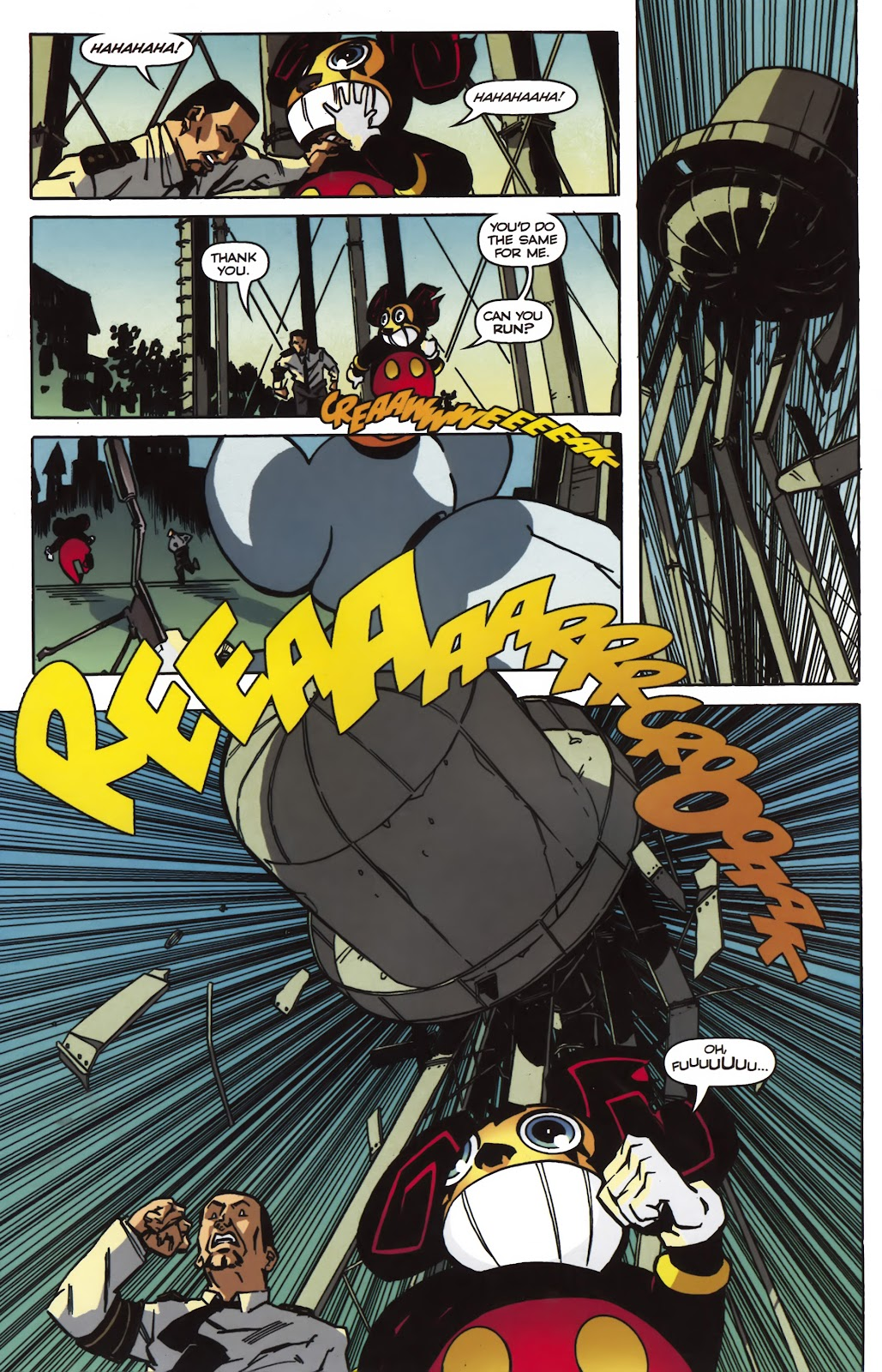 Read online Ricky Rouse Has A Gun comic -  Issue # TPB (Part 2) - 35