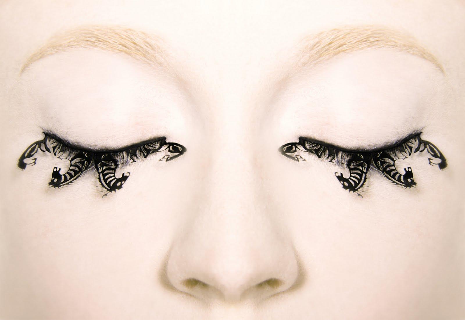 *PAPERSELF:紙做的美麗假睫毛,也太犯規了吧!誰能不注意? 2