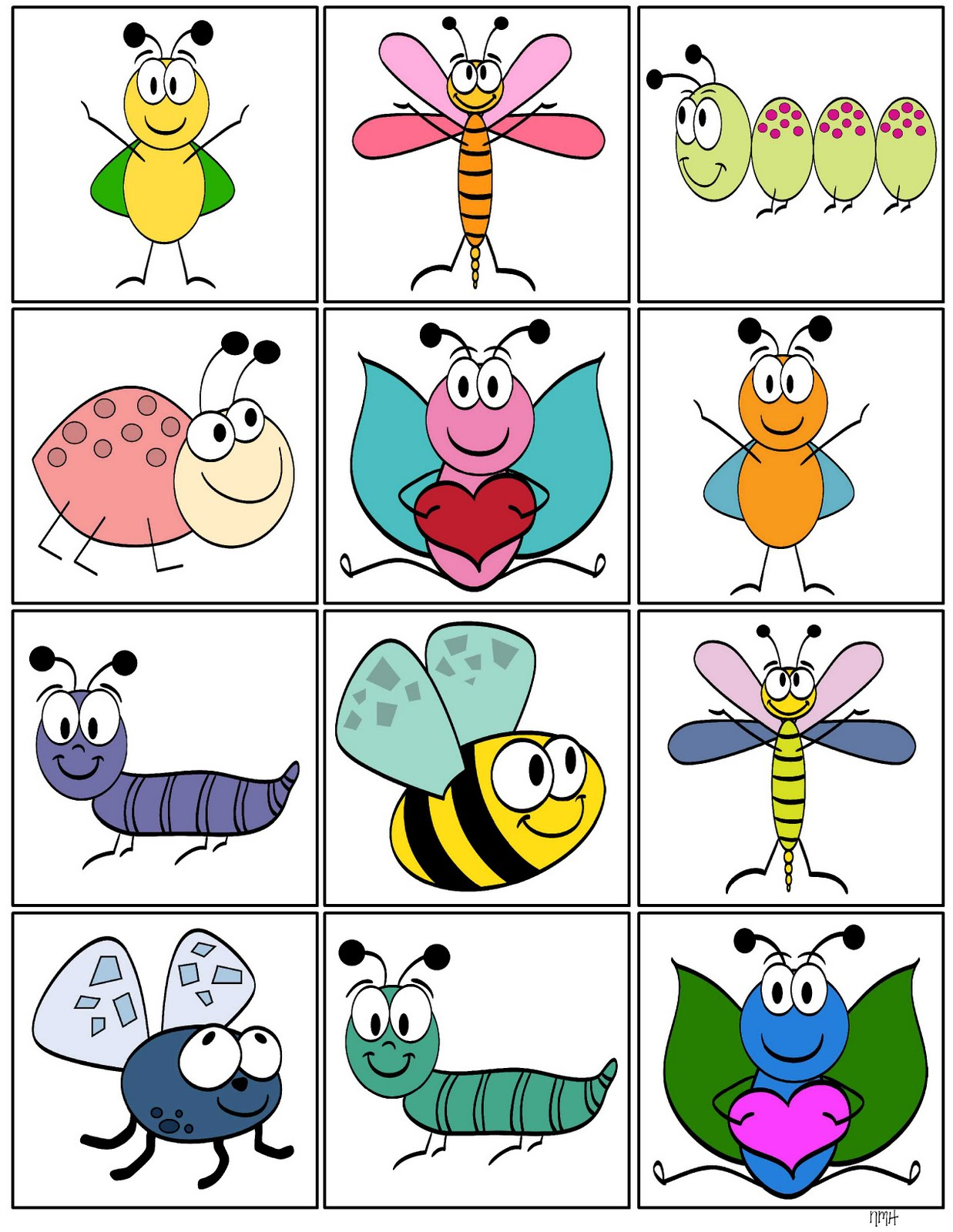 Storytime And More Insect Memory Game