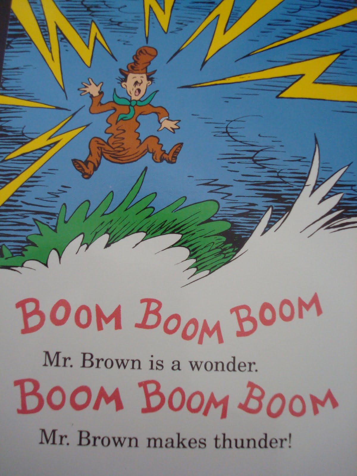 Birthday Things Dear Mr Brown