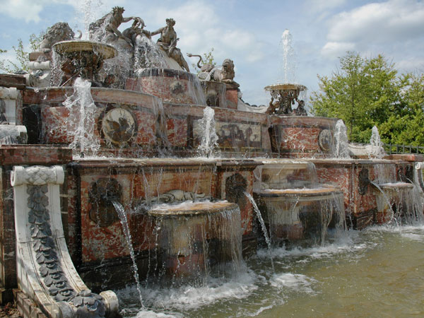 Image result for images of the four seasons fountains at versaille