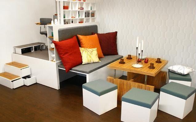 Muebles para optimizar el espacio quiero m s dise o for Quiero estudiar diseno de interiores