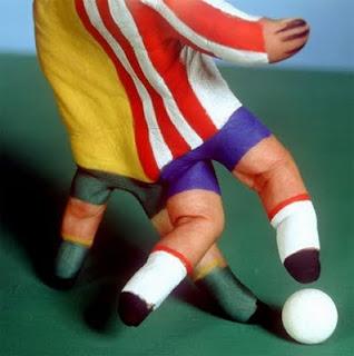 manos body art, jugadores de futbol