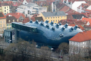 """La """"Kunsthaus"""" de Graz"""