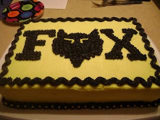 Cakes By Debbie Ryan S Fox Racing Birthday Cake