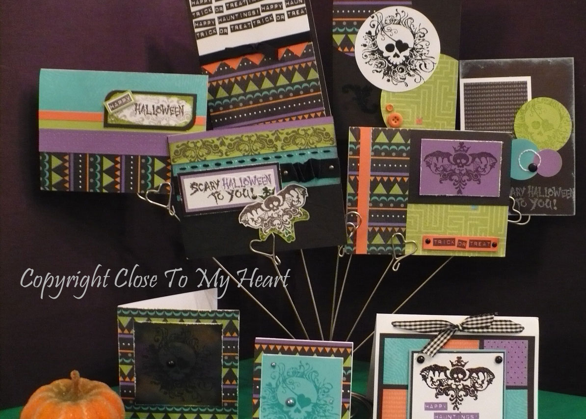 Halloween Card Ideas, Compliments Of The Talented Close To My Heart  Consultants In My Unit. Also, My Friend Tresa Found A Fun Way To Create A  Blog Hop