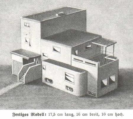 Altera's Mini World: Bauhaus Model House