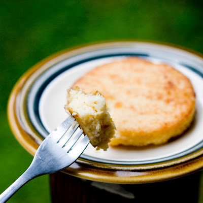 Goat Cheese Grit Cakes Recipe