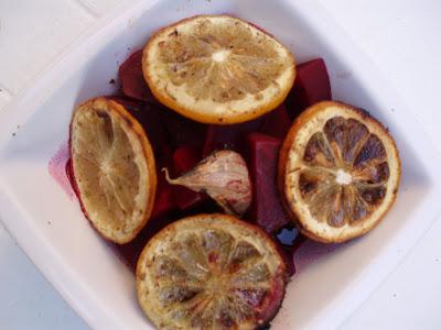 La sorella dissimile barbabietole al forno con limoni arrosto for Cucinare barbabietole